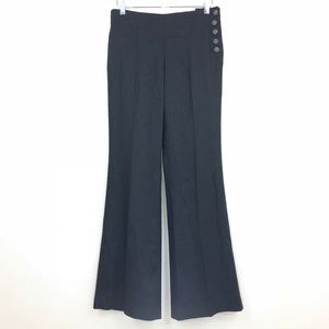 Anthropologie Elevenses Linen Tencel Trouser Pants